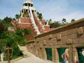 Siam Park - Tower of Power Ansicht von unten links