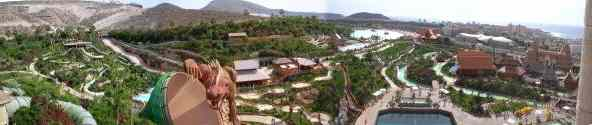 Siam Park Panorama Foto Tower